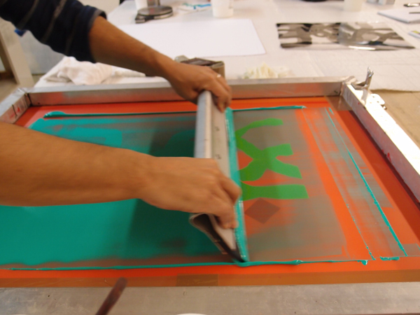 Screen Printing With Acrylic Paint
