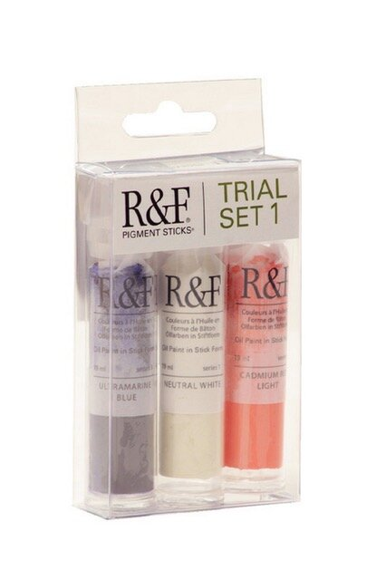 R&F Paints Pigment Sticks Oil paint Chapman and Bailey